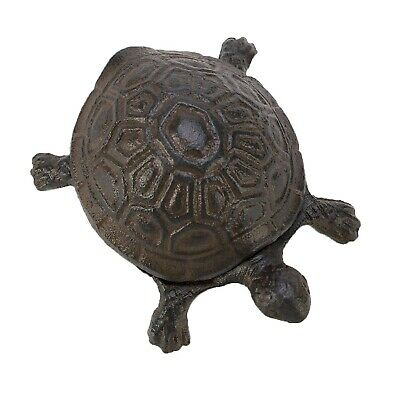Outdoor Spare Key Hider Holder Storage Home Garden Secret Security Safe Turtle