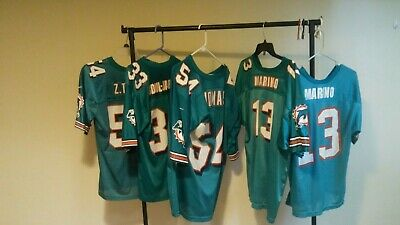 low priced f919a 4d757 LOT OF FIVE Miami Dolphins Youth Jerseys (2 Marino jerseys included)