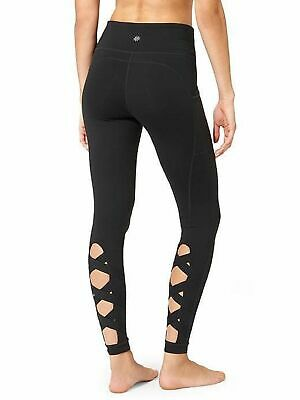 5ce35f3a8ef45 ATHLETA BLACK HIGH Rise Cut Out Chaturanga Tight- S-NWT - $19.99 ...