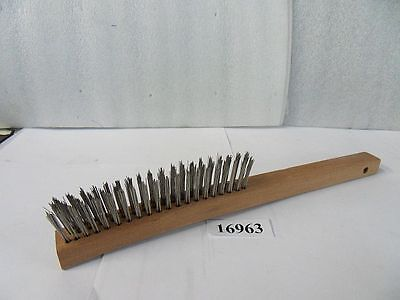 .012 Hand Scrathch Wire Brush New Weiler #44054 Usa Made Pic#16963.