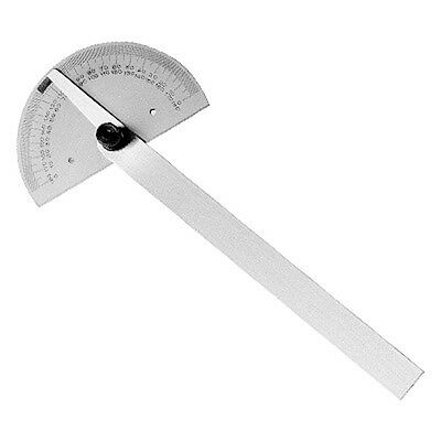 Steel Round Head Protractor (Import) *New* Ds