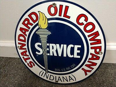 Standard Gas Oil gasoline sign ... free ship on any 10 signs