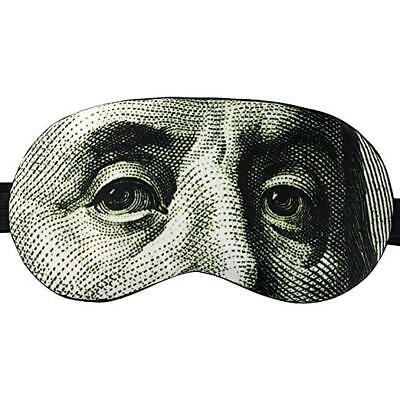 Sleep Eye Mask Men/Women Money 100% Cotton Inside