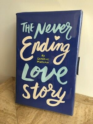 """Kate Spade New York """"Never Ending Love Story"""" Book Of The Month Clutch"""