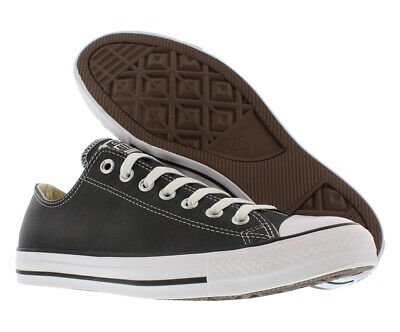 167992c4b798 CONVERSE CHUCK TAYLOR All Star OX Oxford Leather Black Men Women ...