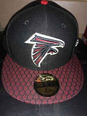 713eef0f84e ATLANTA FALCONS NEW Era 2017 NFL Sideline On Field 59Fifty Fitted ...