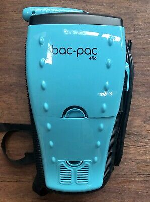 Gruene Bac Pac BacPac eRo Backpack Vacuum Model JL-B4001 Light Weight EUC