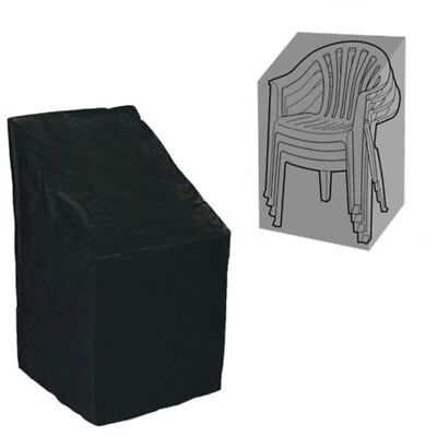 Black Waterproof Outdoor Stacking Chair Cover Garden Patio Chairs Furniture Sale