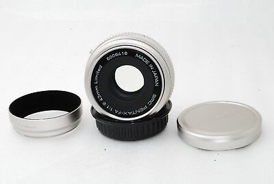 """Pentax SMCP- FA 43mm f/1.9 Silver for K-Mount """"Excellent""""   #2564"""
