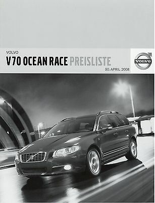 00-07 COTTON LINED WATERPROOF CAR COVER Volvo V70 OCEAN RACE