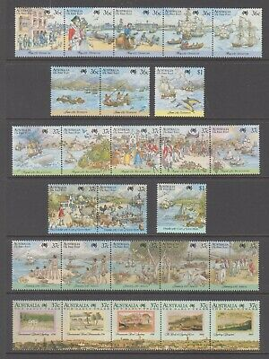 Australia 1987-88 Bicentennial Mint unhinged  collection 26 stamps.