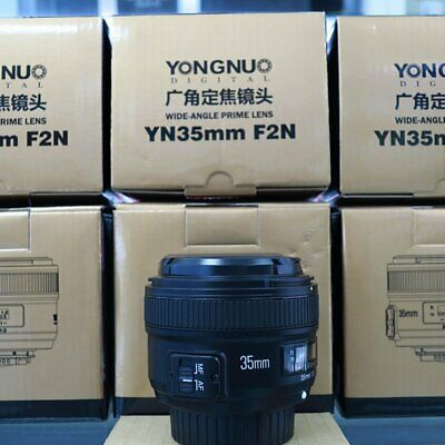 Yongnuo 50mm F1.8 1:1.8 Prime Auto Manual Focus AF MF for Nikon &35mm/40mm/100mm