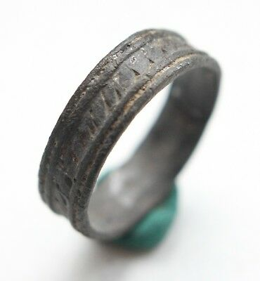 Medieval Ornament Bronze Finger Ring (NOW05)