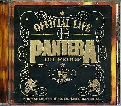 Pantera 1997 Official Live: 101 Proof Promotional Japan Import CD AMCY-2309