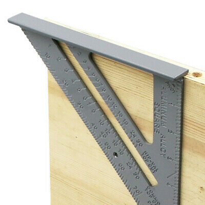 Aluminum Alloy Woodworking Measuring Square Thickening Square Ruler
