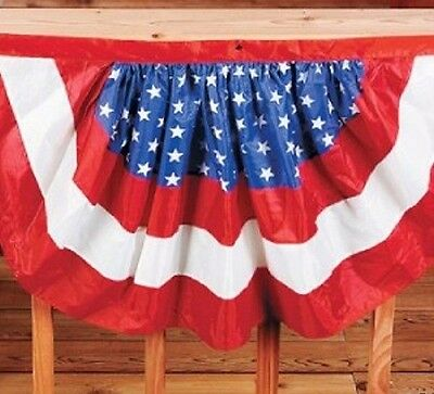 accfb5783377 Light Weight Red White Blue Bunting FLAG Patriotic American Banner Swag  Pennant