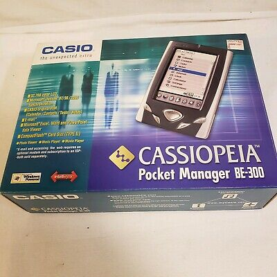 Casio Cassiopeia BE-300 Pocket Manager