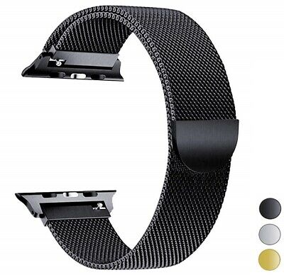 Apple Watch Band Strap Milanese Magnetic Loop Stainless Steel Edition 1 2 3 4
