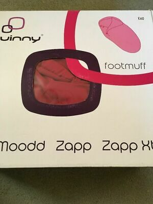 Quinny Buzz Footmuff  Red Rumour