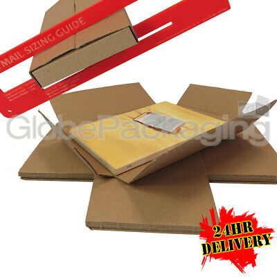 100 x C6 SIZE ROYAL MAIL LARGE LETTER PIP SHIPPING POSTAL MAILING BOXES *24HRS*