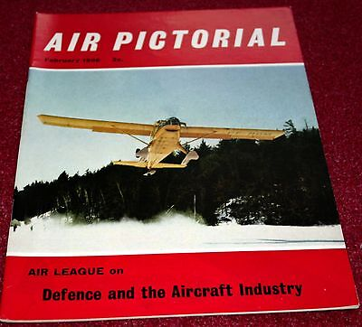 Air Pictorial 1966 February Ontario,Pakistan Air Force,Vickers Windsor,RAF 205