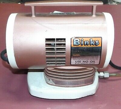 Binks model 34-2025 Diaphragm Air Compressor for Airbrush
