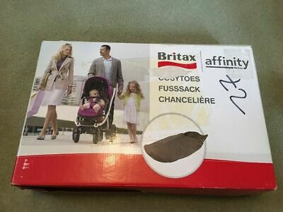 Britax Affinity Cosytoes Footmuff Chilli Pepper