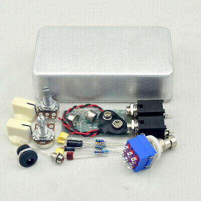 Vintage Fuzz Face DIY Pedal kit with Germanium AC128 Transistors And 1590B Box