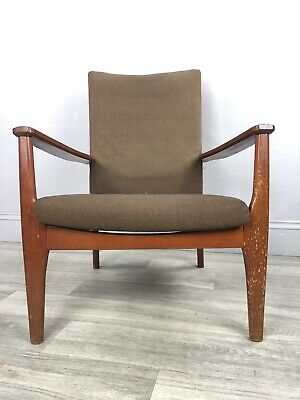 Parker Knoll Vintage Easy Chair, Armchair PK 988/1023 Upholstry Project MA75