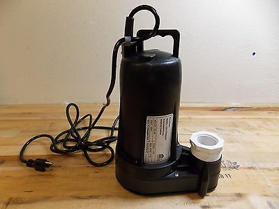 """NuLine Submersible Sump and Sewage Pump 1/2 HP 2"""" Outlet Model 62436977"""