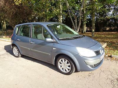Renault Scenic 1.6 VVT ( 111bhp ) auto Dynamique choice of 2 in stock