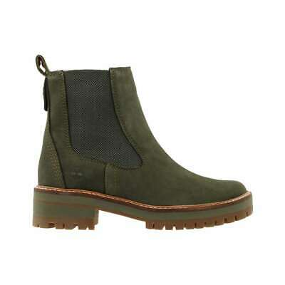 Timberland Courmayeur Valley Chelsea Boots Women's Boots Plateau Sole Tawny | eBay