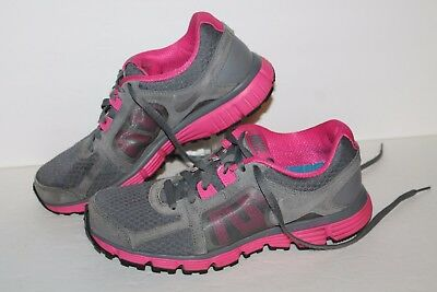 7feab7bf6dee2 NIKE DUAL FUSION ST2 Running Shoes, Black/Hot Pink, Womens US 7 ...