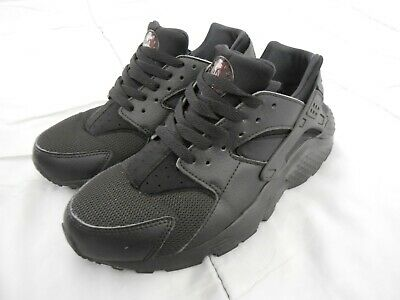 1609038c70 NIKE HUARACHE RUN GS Youth Running Shoes Black Size 7 Youth - $30.00 ...