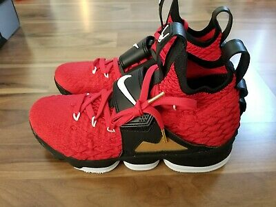 713ef943af Nike LeBron XV 15 Prime Diamond Turf PE University Red White AO9144-600-  Size