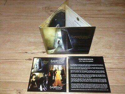 Evanescence - The Open Door 2006 Korea Digipak CD Insert Sticker Sets