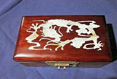 Vintage Chinese Musical Jewelry Box