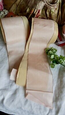Antique Tape Vintage Pink Ribbon Rayon French Tape 2y Vintage Wedding & Ballet