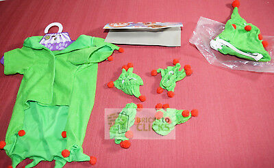 Halloween Dress-up Costume Outfit Pet ELF Shirt, Hat and 4 Cuffs Medium