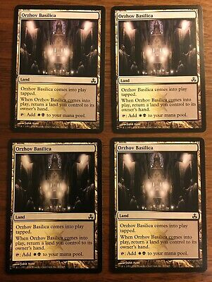 Orzhov Basilica Playset Magic Mtg X4 Guildpact Mp Mtg Individual Cards Toys Hobbies Carlassweets Com Orzhov basilica enters the battlefield tapped. orzhov basilica playset magic mtg x4