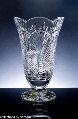 """Waterford Crystal First Edition Seahorse Vase, 10"""", Classic Collection"""