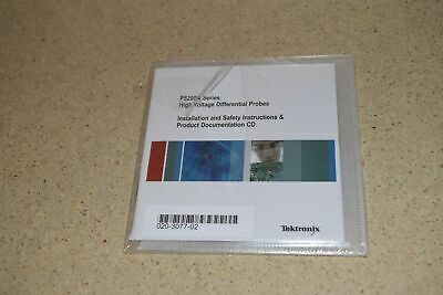 Tektronix P5200A Series High Voltage Differential Probes Instruction Cd - New