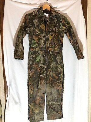 e3027d87e1795 Walls Advantage Camouflage YOUTH KIDS Insulated Coveralls One Piece Suit 12  Reg