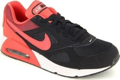 huge discount 9cba8 9a8df NEW Nike Air Max IVO (GS) Kids Running Shoes Black Ember Sz 5 Youth