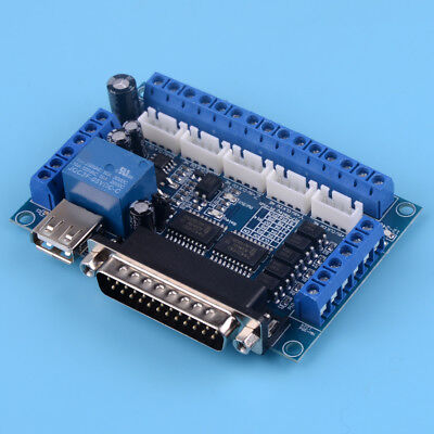 For Stepper Interface MACH3 Breakout Board CNC Motor Driver 5 Axis Controller