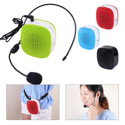 Portable Microphone Voice Amplifier Booster Teaching Public Speaking Tour Guide