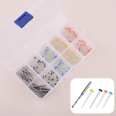160pcs Dental Glass Fiber Post Single Refilled Package & 32pcs Drill Set