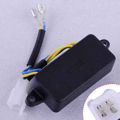 4 Pin 2KW Rectangle Automatic Voltage Regulator AVR Fit for Generator  TT08-4A