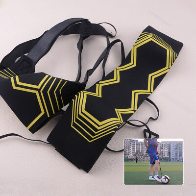 Soccer Practice Skills Training Equipment Football Kick Self Trainer Aid Solo