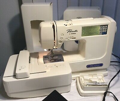 BROTHER Pacesetter PE-300S Complete Touch Screen Embroidery Sewing Machine